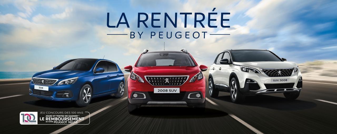 La rentrée by Peugeot