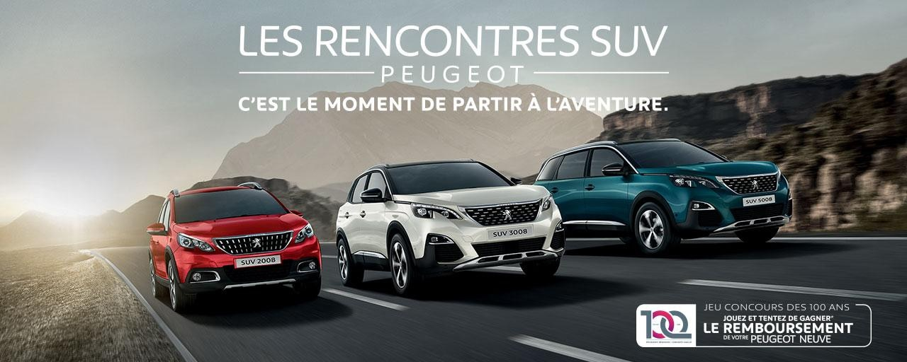 Rencontres SUV Peugeot Generique
